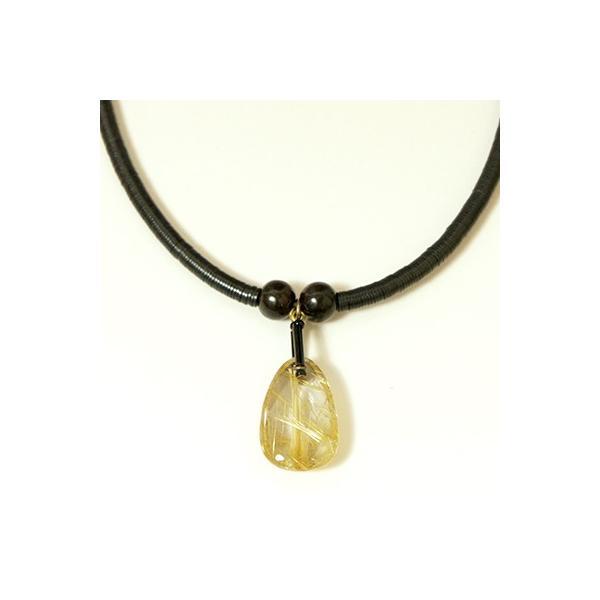 針水晶(ルチルクォーツ)ネックレス001|kokochi|02