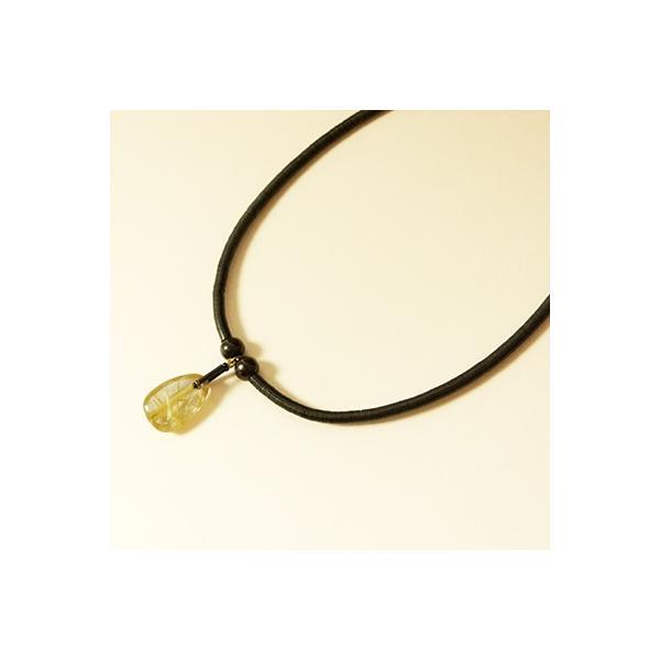 針水晶(ルチルクォーツ)ネックレス001|kokochi|03