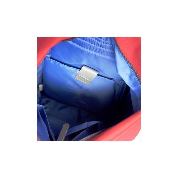 三角リュック コーデュラナイロン レッド  heart made factory ハーベスト H.M.F FY-0935|kokochi|02