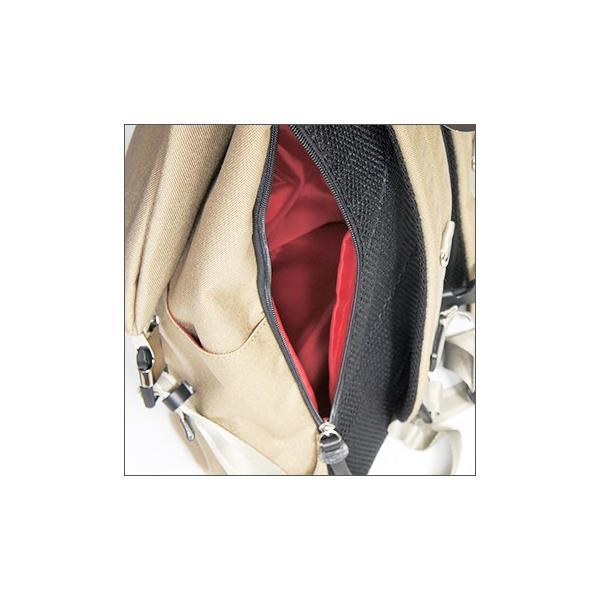 三角リュック コーデュラナイロン レッド  heart made factory ハーベスト H.M.F FY-0935|kokochi|03