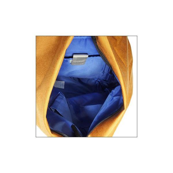 三角リュック コーデュラナイロン マスタード heart made factory ハーベスト H.M.F FY-0935|kokochi|02