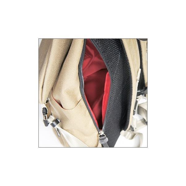 三角リュック コーデュラナイロン マスタード heart made factory ハーベスト H.M.F FY-0935|kokochi|03
