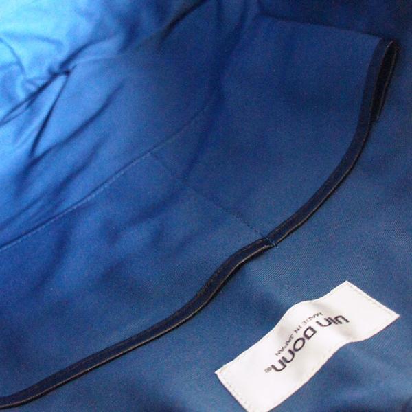 VIA DOAN ヴィアドアン Country 丸型レザートートバッグ 1704  アルミ貼り 黒 日本製 kokochi 07