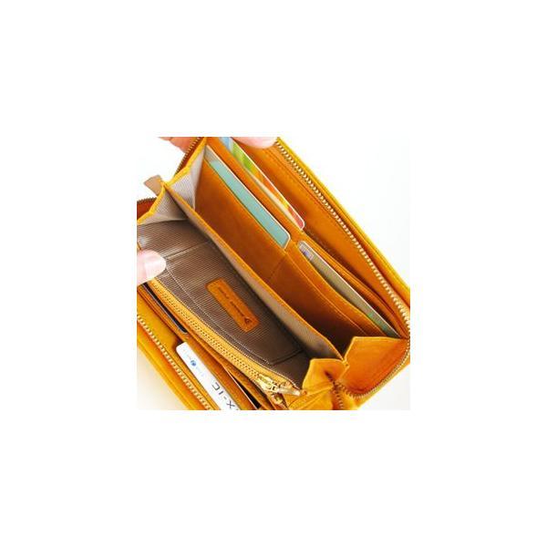 バギーポート  ラウンドファスナー長財布HRD-770ブラウン|kokochi|05