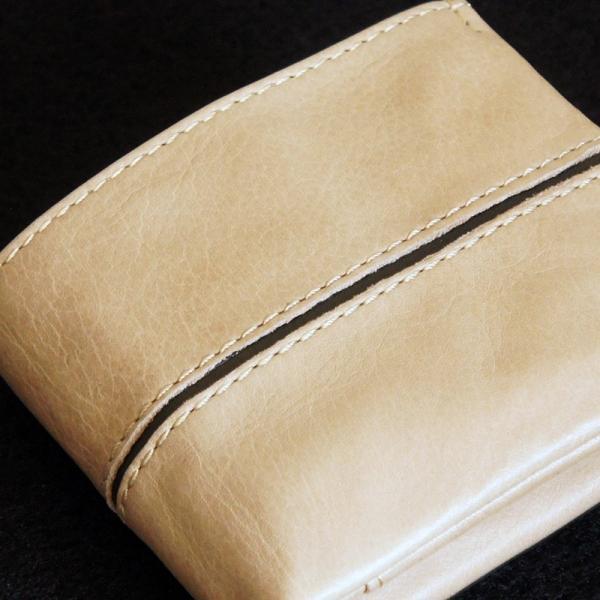 Baggy Port(バギーポート)二つ折財布 フルクロームツートン HRD-408 ベージュ|kokochi|02
