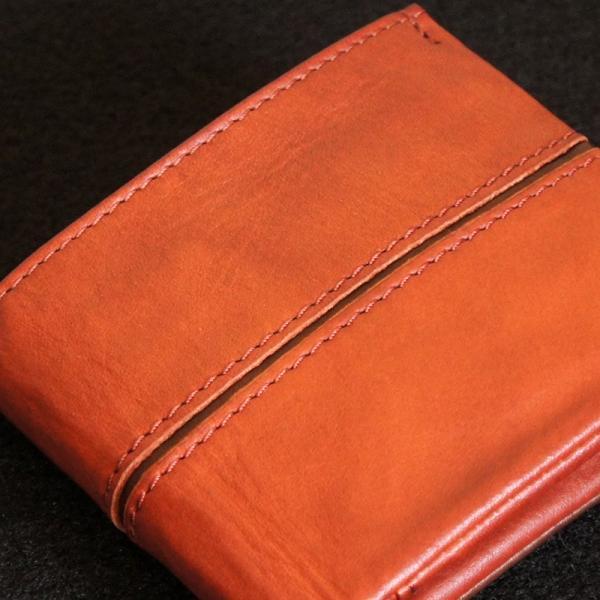 Baggy Port(バギーポート)二つ折財布 フルクロームツートン HRD-408 レッド|kokochi|04