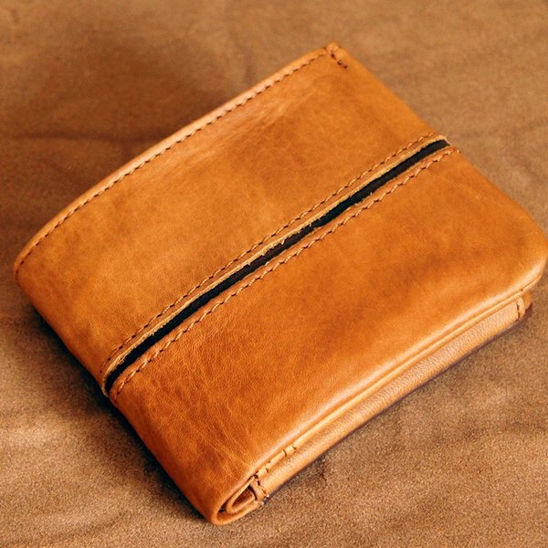 Baggy Port(バギーポート)二つ折財布 フルクロームツートン HRD-408 レッド|kokochi|09