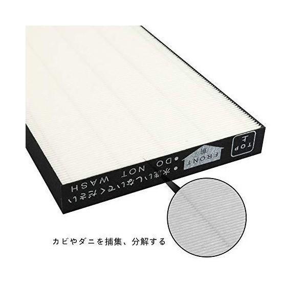 空気清浄機フィルター (1枚入り) 交換 集塵フィルター 脱臭 フィルター 互換品 KAFP029A4
