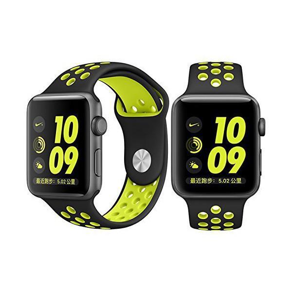 【万屋】Apple Watch スポーツバンド 全16色 高級シリコンバンド Apple Watch Series 3 / Series 2 Ser
