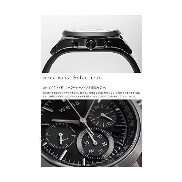 [wena project] Three Hands Solar Premium Black Head WH-TS01/B