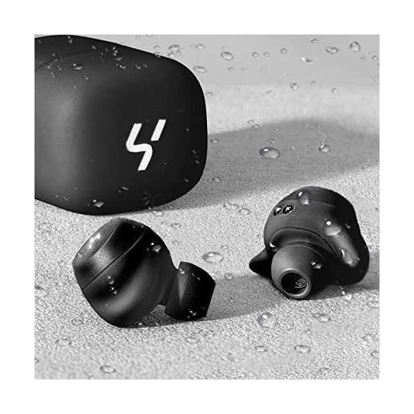 HAVIT「Bluetooth 5.0 」 Bluetooth イヤホン 完全ワイヤレスイヤホンTWSイヤホンスポーツイヤホン AAC対応/Siri|kokona0221|05