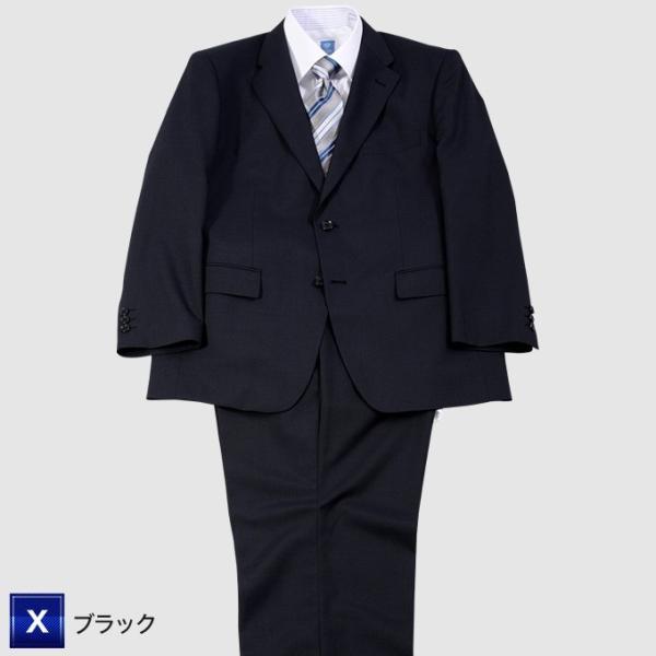 大きいサイズ スーツ/アジャスター付春夏2ツボタンビジネススーツ E体K体 [グレー・ブルー・ネイビー・ブラック]メンズ・スーツ 送料無料▽|kokubo-big|03