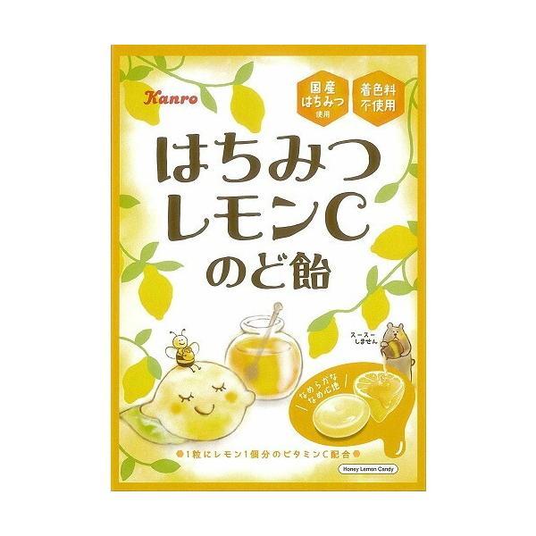 はちみつレモンCのど飴 【90g×6個】(カンロ)