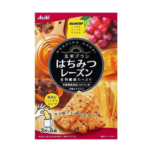 バランスアップ 玄米ブラン はちみつレーズン 【150g】(アサヒフードアンドヘルスケア)