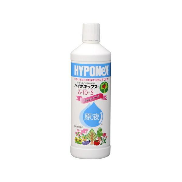 (取り寄せ商品 納期1~2週間)ハイポネックス原液【800ml】(ハイポネックス)