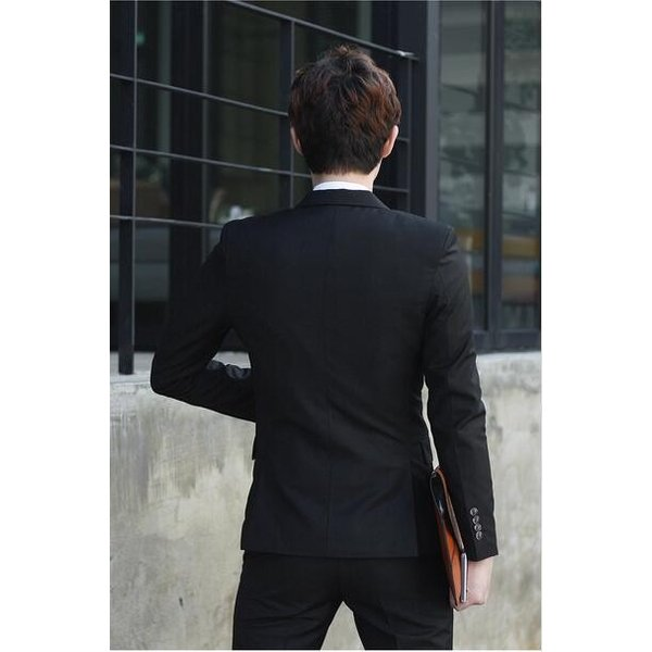 8fe36db8c8f85 ... 紳士必備7点セット春秋ビジネススーツ男性スーツ メンズ通勤 紳士フォーマルスーツ礼服 ...