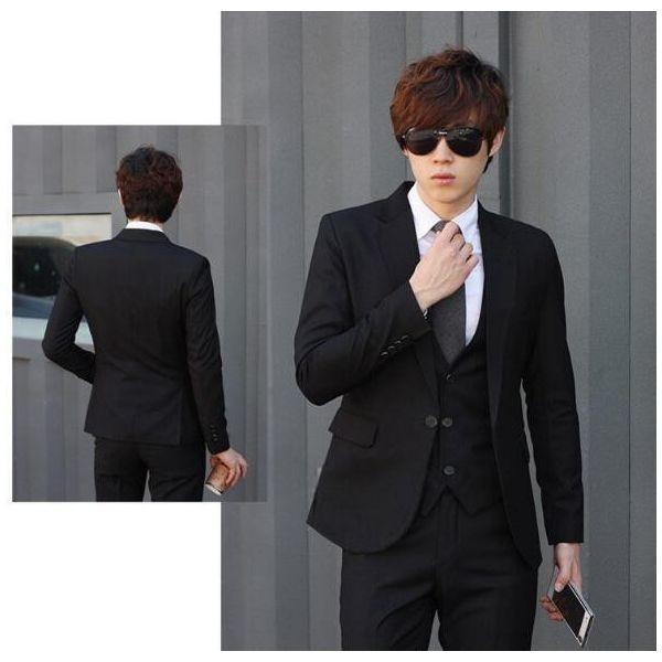 3ec4efa4ff3ab ... 紳士必備2点セット春秋ビジネススーツ男性スーツ メンズ通勤 紳士フォーマルスーツ礼服 ...