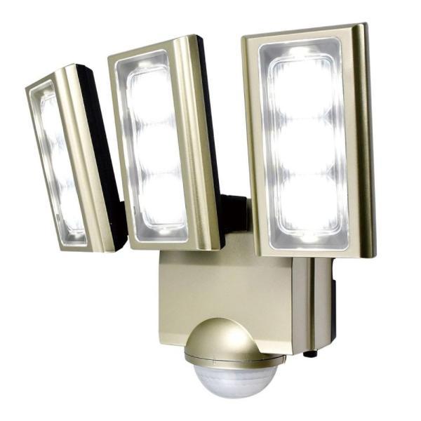 ELPA(エルパ) 屋外用LEDセンサーライト AC100V電源(コンセント式) ESL-ST1203AC ガレージ 検知 自動点灯