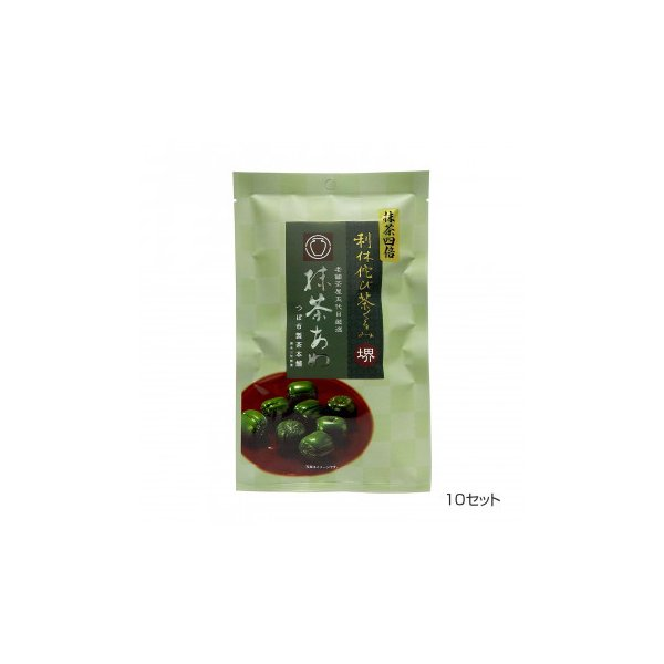 つぼ市製茶本舗 利休 侘び茶くるみ 抹茶あめ 70g 10セット