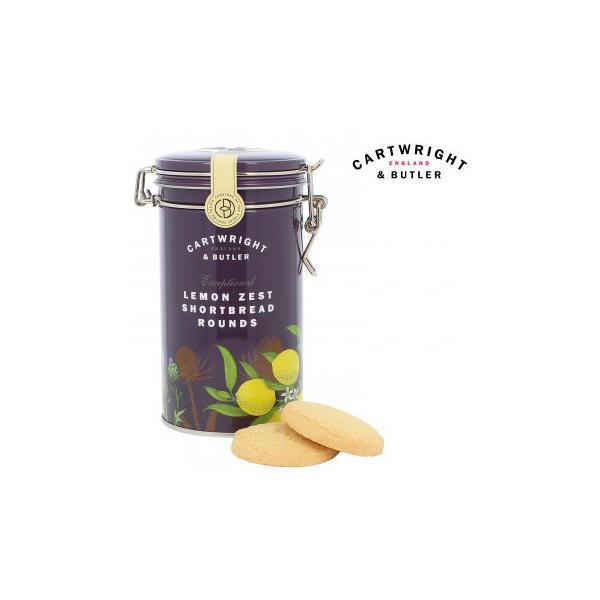 Cartwright&Butler カートライト&バトラー レモンショートブレッド 6缶 10041046 イギリス お菓子 輸入菓子
