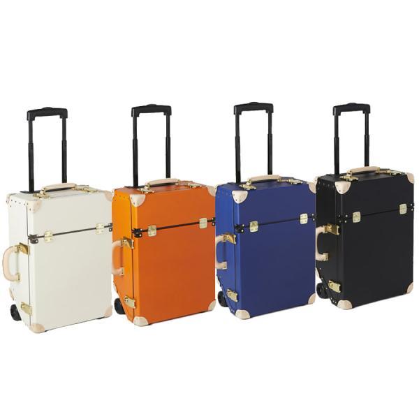 キャリーバッグ TIMEVOYAGER Trolley タイムボイジャー トロリー プレミアムII 33L レザー 日本製 スーツケース