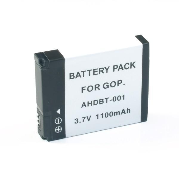 GoPro用(ゴープロ用) ビデオカメラ用 AHDBT-001/002互換バッテリー(メール便)
