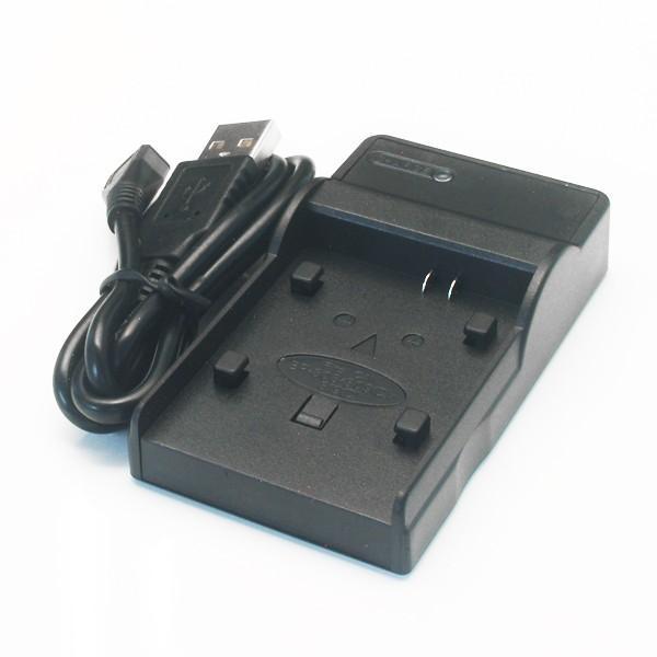 キヤノン用(Canon用) ビデオカメラ 互換充電器 BP-819/BP-820/BP-828 USB仕様(メール便)