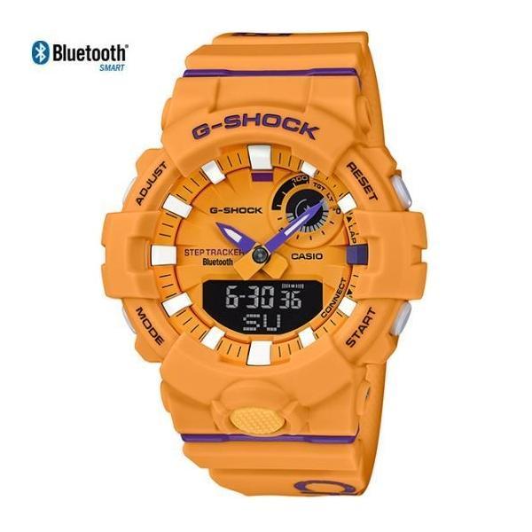 CASIO 腕時計 カシオ 時計 Gショック ジースクワッド G-SHOCK G-SQUAD メンズ イエロー GBA-800DG-9AJF