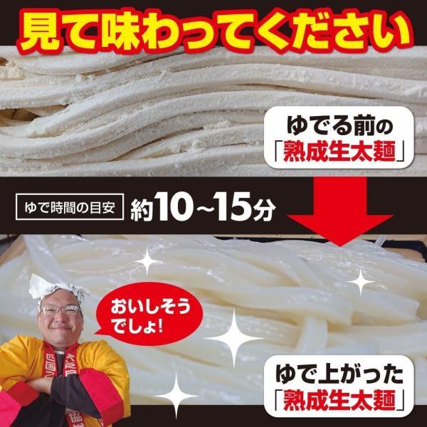激ウマ 熟成 ちょい 生太 讃岐 うどん ドーンと 6食 便利な個包装 300g×2袋 600g 送料無料 最安値 挑戦 komatuyamenbox 06