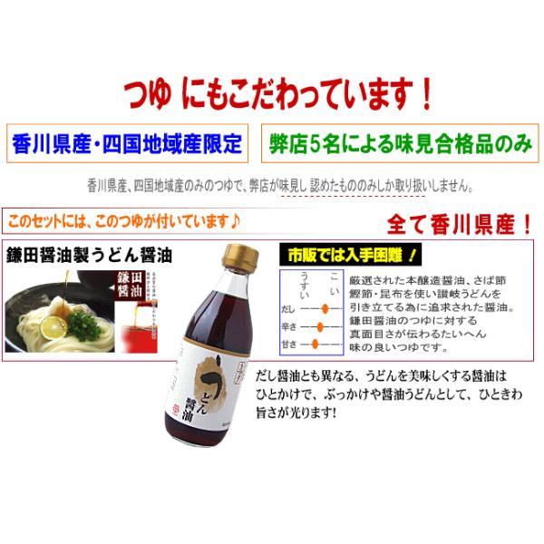 送料無料 うどん 大根おろし醤油&ゆずぽん純生讃岐うどんセット|komatuyamenbox|09