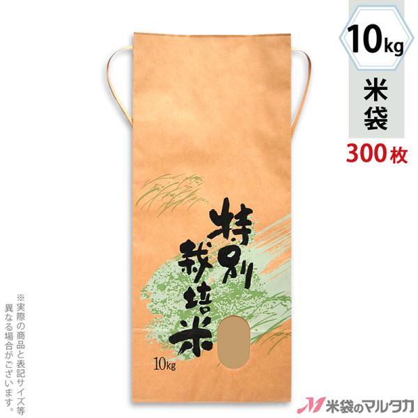 米袋 10kg用 銘柄なし 1ケース(300枚入) KH-0312 特別栽培米 自然の力
