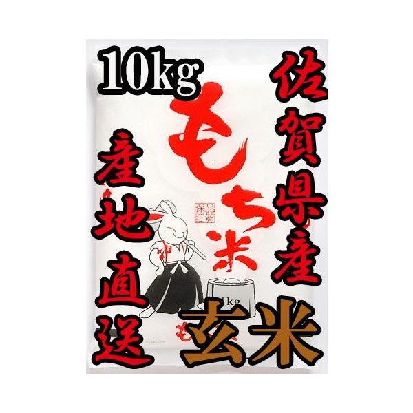 【玄米】【令和2年産】佐賀県産 ヒヨクモチ 玄米10kg 送料無料 日本三大もち米処 佐賀より産地直送