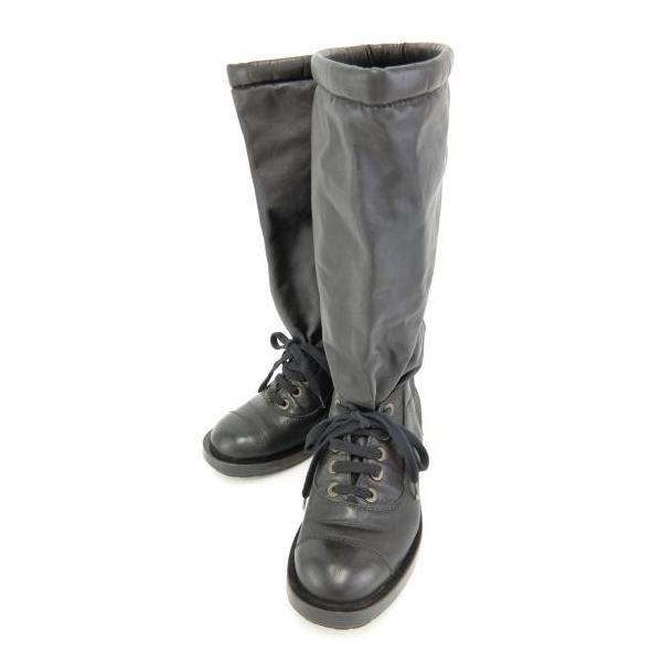 シャネル CHANEL ブーツ