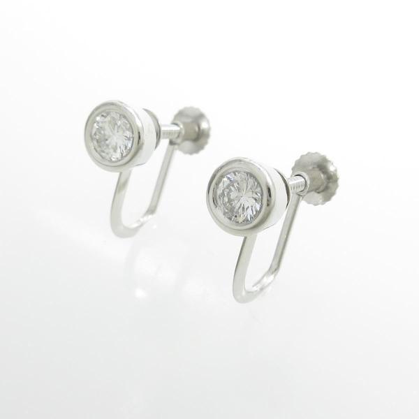 PT ソリティア ダイヤモンドイヤリング