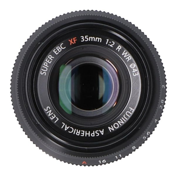 FUJIFILM XF35mm F2R WR ブラック|komehyo|08