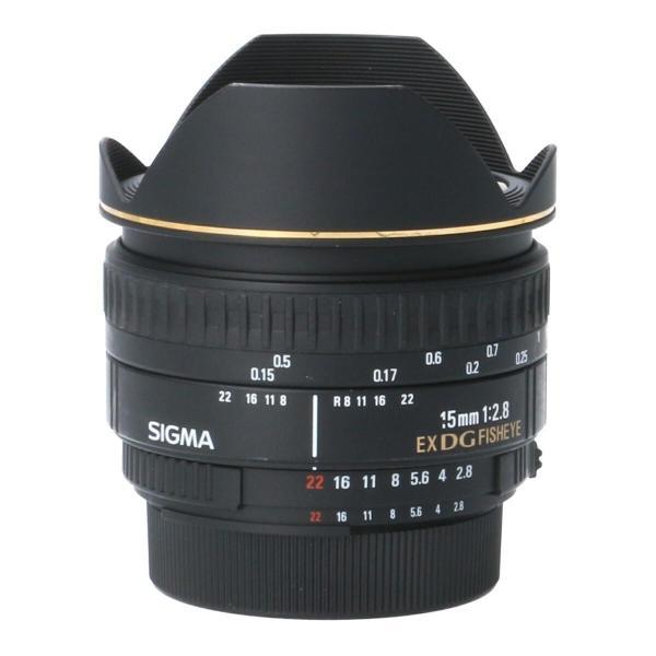 SIGMA ニコン15mm F2.8EX DG FISHEYE|komehyo