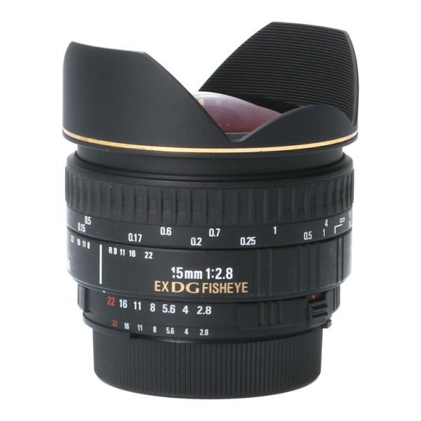 SIGMA ニコン15mm F2.8EX DG FISHEYE|komehyo|02