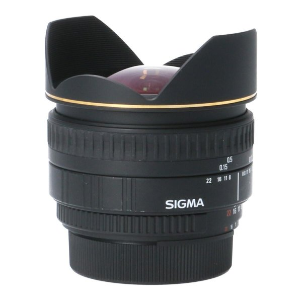 SIGMA ニコン15mm F2.8EX DG FISHEYE|komehyo|06