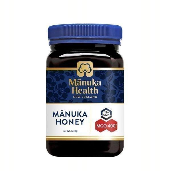 マヌカヘルス マヌカハニー MGO400+/UMF13+ 500g (正規品 ニュージーランド産)  MANUKA HEALTH NEW ZEALAND (D)