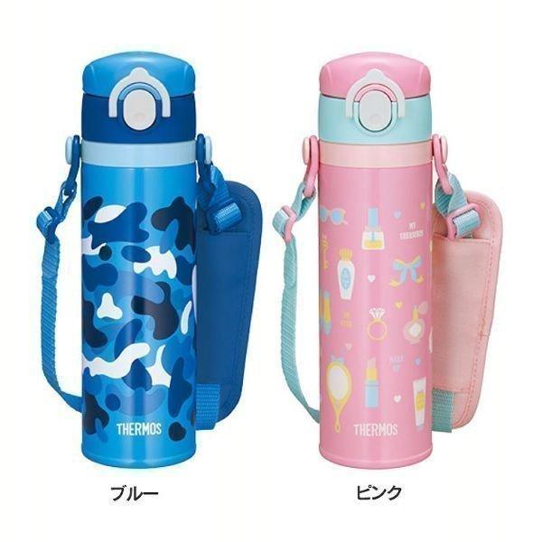 水筒 サーモス 500ml 子供 おしゃれ 真空断熱キッズケータイマグ 0.5L JOI-500 (D)