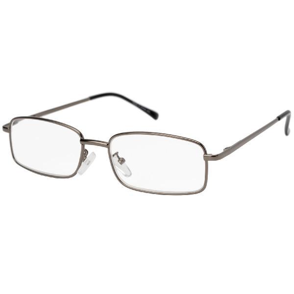 気軽に掛けられる老眼鏡 メタルフレーム 3.0度 KRG−FM02−3.0
