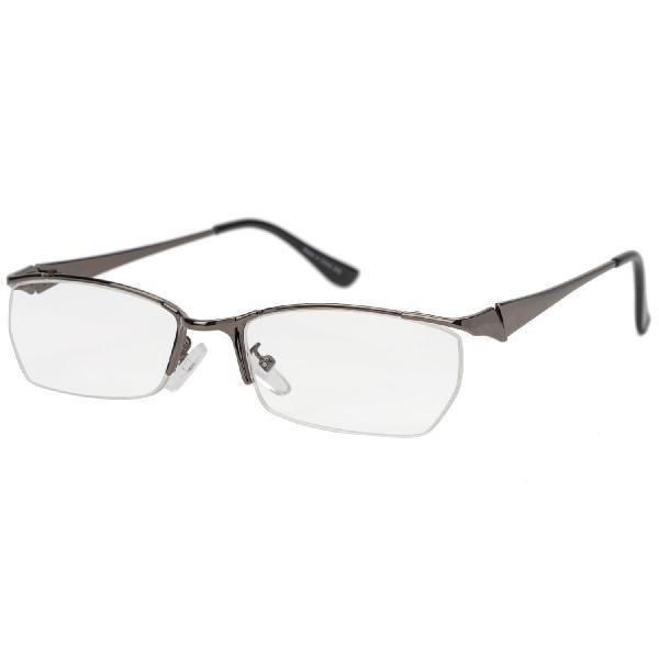 気軽に掛けられる老眼鏡 メタルフレーム 3.0度 KRG−NM06−3.0