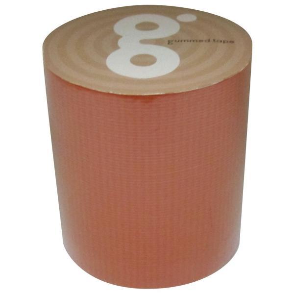 ガムテープバッグキット オレンジ 50mm×5m M−118−赤