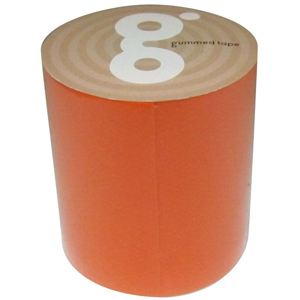 ガムテープバッグキット 蛍光オレンジ 50mm×5m M−120
