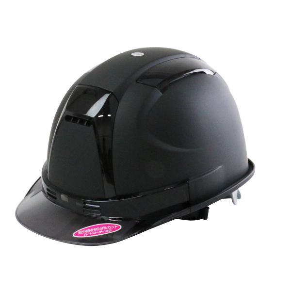 TOYO SAFETY トーヨーセフティー ヘルメット ツヤケシ黒 NO.390F−OT−SS