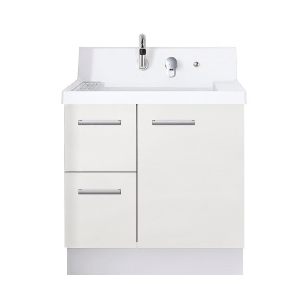 LIXIL INAX 洗面台 K1シリーズ グロスホワイト K1H5−755SY/YS2H