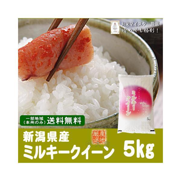 【新米】新潟県産ミルキークイーン(令和3年産)5kg【送料無料(本州のみ)】