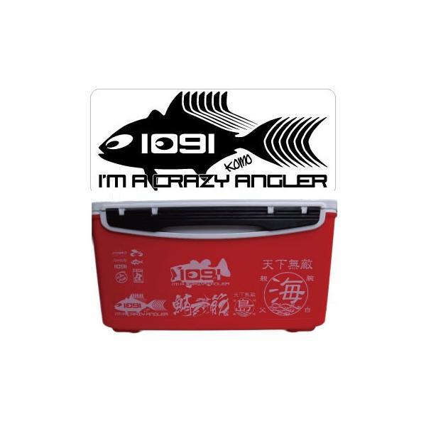 1091(イレグイ)フィッシュ ステッカー 124×54mm|komo|04