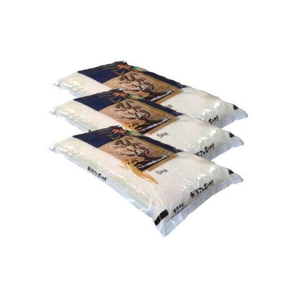 【白米】 新潟県産 コシヒカリ15kg(5kg×3袋) 令和2年産