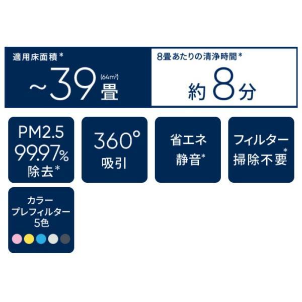 空気清浄機 Blue Pure 231 Particle + Carbon ブルー ピュア 231 パーティクル プラス カーボン 適用床面積〜39畳 PM2.5 除去 Blueair 103984